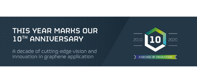 Applied Graphene materials celebrates 10 year anniversary by signing distribution deal