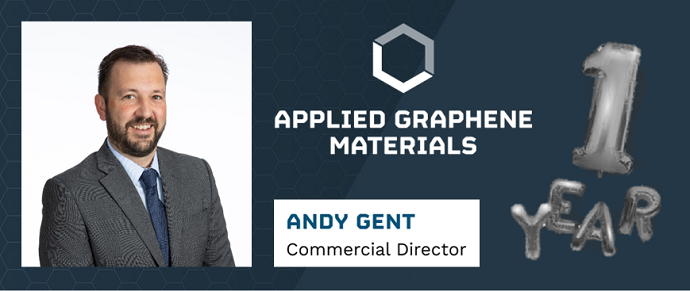 Andy Gent reflects on his first 12 months as AGM's Commercial Director